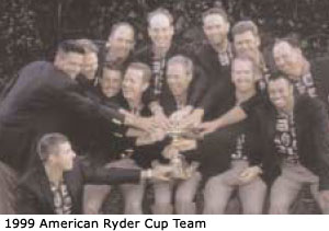 1999 American Ryder Cup Team