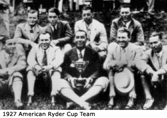 1927 American Ryder Cup Team